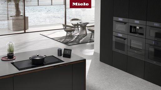 Miele Küchengeräte schwarz